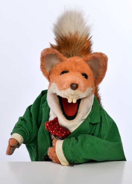 Photo portrait of Basil Brush